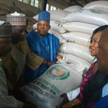 Borno state Governor commends NEMA, as ECOWAS donates 22600 bags of assorted grains