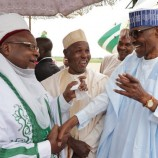 Buhari in Daura, Katsina state for Eid-el-Kabir Celebration