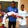 Man Who Left After His Wife Gave Birth To Triplets In Benue Returns