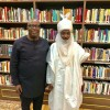 See What Happened To A Man After Visiting Emir Sanusi's Library In Kano State