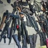 Police recover 100 assorted guns from militias in Zamfara