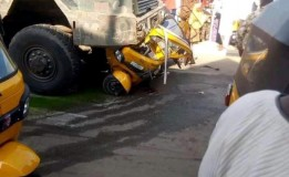 19-year-old undergraduate, toddler killed as Military truck crushes tricycle