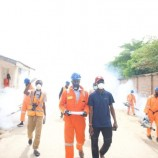 Niger State Government Fumigates Places Where First  Index Case Visits