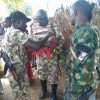 Troops of Operation Lafiya Dole vaccinate 1227 children in 13 villages within Yunusari LGA, Yobe State