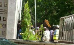 Staff of Borno state environmental protection agency (BOSEPA) protest over non payment of their salaries