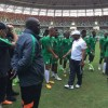 President Buhari Congratulates Super Eagles On AFCON Qualification