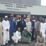 Governor Mohammed Abubakar Interacts with Bauchi Students in Czech Republic