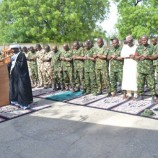 #EidAlFitr: COAS visits troops in Zamfara