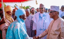President Conde joins Buhari to celebrate Eid Eil-Kabir in Daura