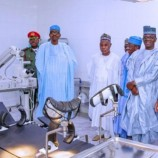 Buhari Inaugurates Air Force Hospital In Daura