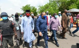 Governor Sani Bello Inspects Zungeru Bypass Road