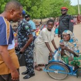 Despite Baga attack, Zulum delivers food aide to 80,000 IDPs at Monguno