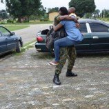 Jubilation as Gallant Soldiers Returned To Their Families After Fighting Boko Haram in North East
