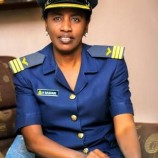 Meet Hajara Bashari from Jigawa, the first Hausa Muslim female wing commander in Nigeria