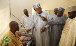 Shettima inspects Molai General Hospital and Leprosy Centre