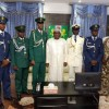 Sokoto Governor ​Tambuwal Hosts Ahmad Buhari Bature NDA's Best Graduating Cadet, Others and Urges Support For Military