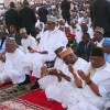 President Buhari returns to Abuja, attends in-law's wedding