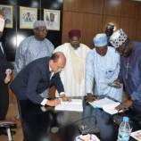 Niger State Government, Dantata and Sowoe Sign Contract on Minna-Bida Road