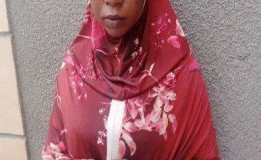 Housewife bathes mate with hot water in Kano