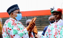 Edo Decides: Gov. Bala Attends Flag-Off Campaign