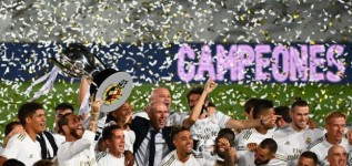Real Madrid win 34th Spanish La Liga title as Osasuna beat Barcelona