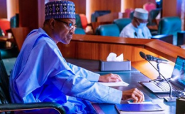Buhari Holds Virtual Meeting With Former Nigerian Leaders
