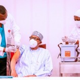 Buhari to Nigerians: Present yourselves for COVID-19 vaccine — I've received mine