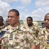 CAS Air Marshal Sadique Abubakar Spends Time With Frontline Troops, Urges Them To Redouble Their Efforts