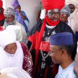The Emir of Zazzau wasn't shutout of the OLAM event