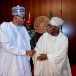 Obasanjo's coalition adopts ADC to unseat Buhari in 2019