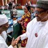 Minimum Wage: Again, Buhari meets with state governors