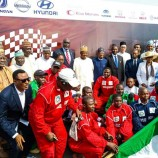 Argungu Motor Rally 2020 Flag Off, in Abuja, with Nigerian-assembled vehicles