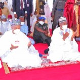Zulum, Shettima attend eid prayer in Maiduguri