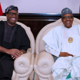 'He Deserves It': Buhari Rejoices With Adesina On AfDB Re-Election