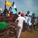 Protests Continue in Minna as Youths Demand Good Roads, End to Banditry