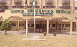 Offices Burnt As Fire Engulfs Part Of Nigeria Immigration Service Headquarters