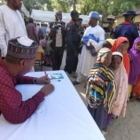 1,163 displaced children enrolled in school as Zulum visits Borno community