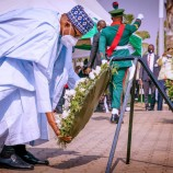 Buhari, Osinbajo, Others Lay Wreaths to Mark Armed Forces Remembrance Day