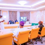 Buhari Swears In 3 INEC National Commissioners